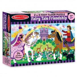 Melissa & Doug - Puzzle de podea Povestea Prieteniei