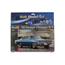 Model set 1968 dodge charger (2 in 1)