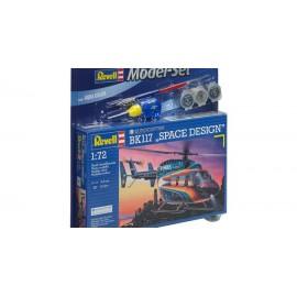 Model set eurocopter bk 117 space design