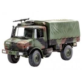 Macheta camion militar lkw 2t. tmil gl (unimog) revell 03082