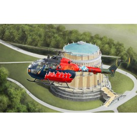 Macheta elicopter bo105 fly out painting rv4906
