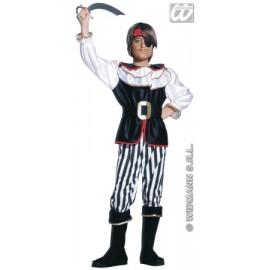 Costum carnaval copii - Pirat elegant