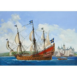 Set macheta revell gift set royal swedish warship vasa 05719