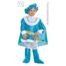 Costum carnaval copii - Print albastru