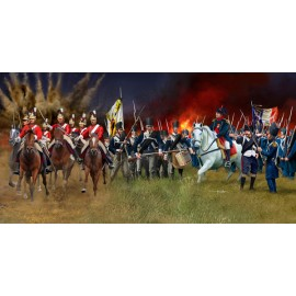 Set figurine battle of waterloo 1815 revell 02450
