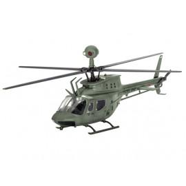 Macheta elicopter bell oh58d kiowa revell 04938