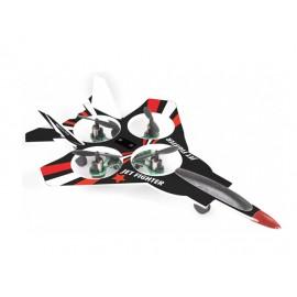 Avion radiocomanda quadcopter jet fighter 23946