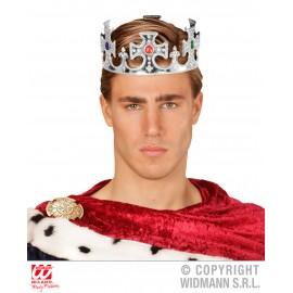 Coroana rege argintie