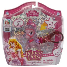 Figurina disney cu coada care lumineaza - bloom poneiul aurorei
