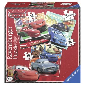 Puzzle cars 3 buc in cutie 253649 piese