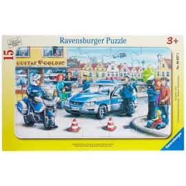 Puzzle departamentul politiei 15 piese