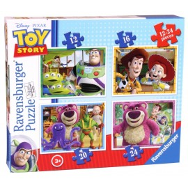 Puzzle disney toy story 4 buc in cutie 12162024 piese