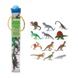 Tub 12 figurine - Dinozauri Carnivori