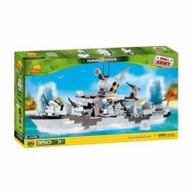 Set de construit Nava militara - Cobi