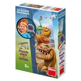 Puzzle cu masuratoare - dinozauri (150 piese)