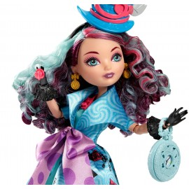 Papusa Ever After High Taramul Minunilor - Madeline Hatter
