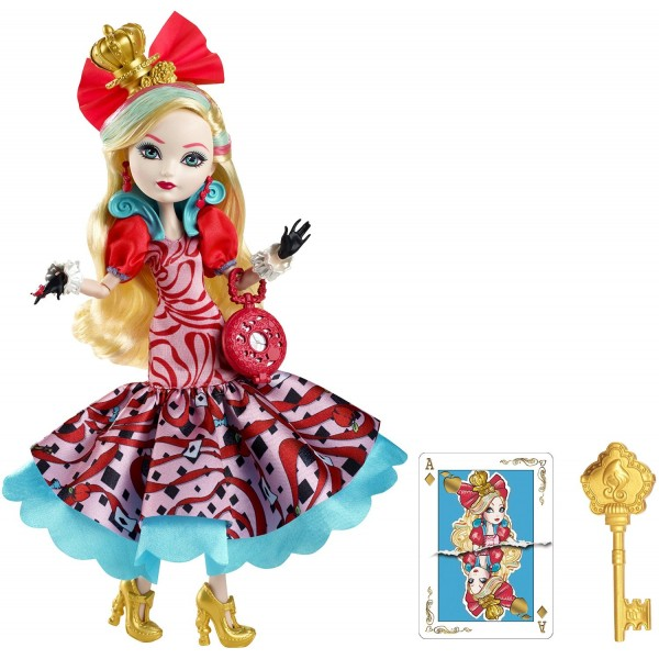 Papusa Ever After High Taramul Minunilor - Apple White