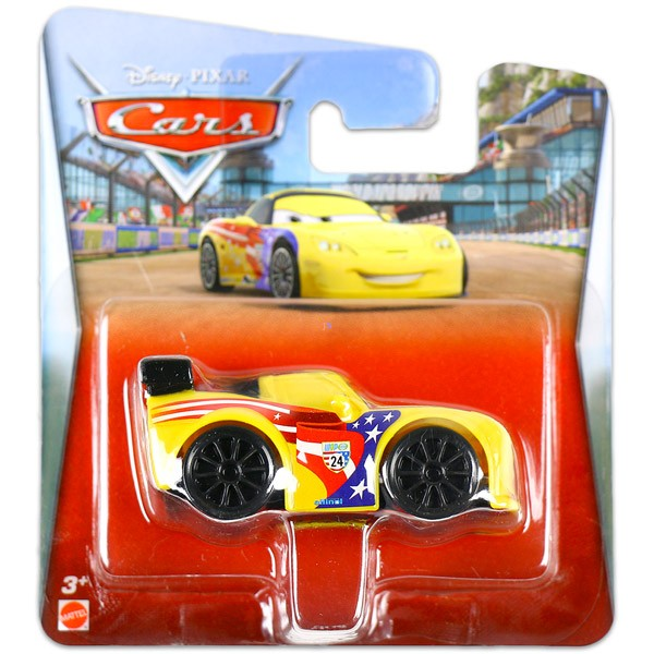 Jeff Gorvette plastic - Disney Cars 2