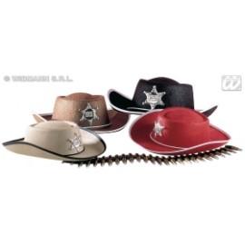 Palarie Cowboy cu stea - Accesoriu carnaval