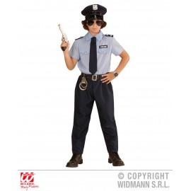 Costum politist copil - marimea 128 cm