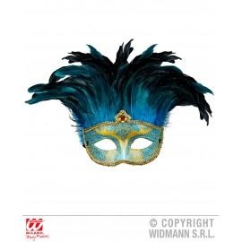 Masca contesa albastra - marimea 128 cm