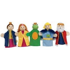 Set papusi de deget - Regele Broscoi
