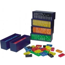 Domino cu piese Albastre - Miniland