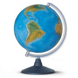 Glob pamantesc iluminat Elite 25 cm – harta fizica si politica in limba romana