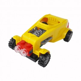 Masina Hot Rod (galben) - Cobi