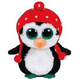 Plus pinguinul cu fes FREEZE (15 cm) - Ty