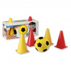 Set fotbal cu jaloane - Androni Giocattoli