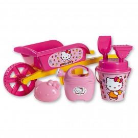 Roaba cu jucarii de nisip Hello Kitty - Androni Giocattoli
