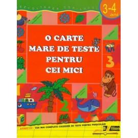 O carte mare de teste pentru cei mici 3-4 ani