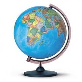 Glob pamantesc Corallo 20 cm – harta politica in limba romana