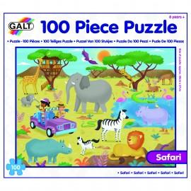 Puzzle - aventura in safari ( 100 piese)