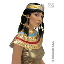 Peruca si guler Cleopatra - Set accesorii carnaval