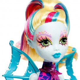 Lagoona Blue Glow in the dark - Monster High Great Scarrier Reef