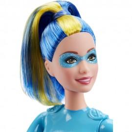 Papusa Barbie Eroina - Albastru