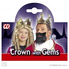 Coroana rege / regina - Accesoriu carnaval
