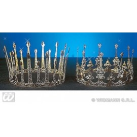 Coroana aluminiu - Accesoriu carnaval