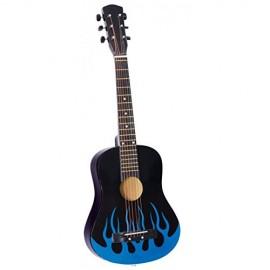 Chitara Rock Star cu 6 corzi - 76 cm