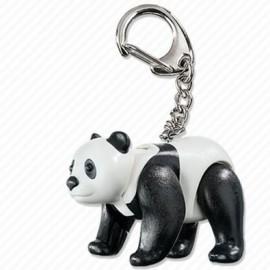 Breloc playmobil cu urs panda