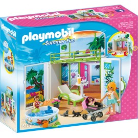 Cutie de joaca - vila de la plaja