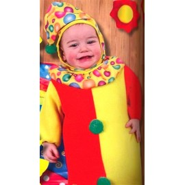 Costum clown bebe