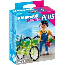 Instalatorul cu bicicleta