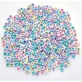 Margele Alfabet Pastel 750 imagine