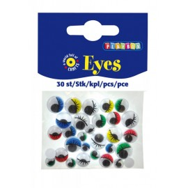 Ochi colorati cu gene 30