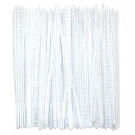 Set 100 chenille albe