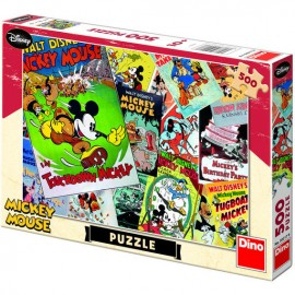 Puzzle distractie cu mickey mouse