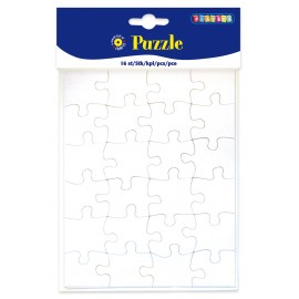Set 16 puzzle de colorat